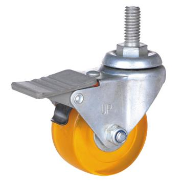 2inch PP/PVC Swivel Caster with brake