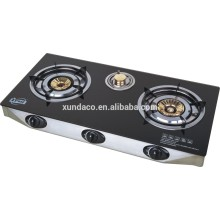 Tempered Glass Panel 3 Burners Cook Tops