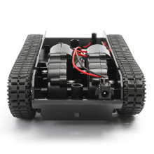 3-7V Smart Tank Robot Chassis Toy Kit Lightweight ShockAbsorber For Arduino 130 Motor Tank Car Chassis Crawler Replacement Part
