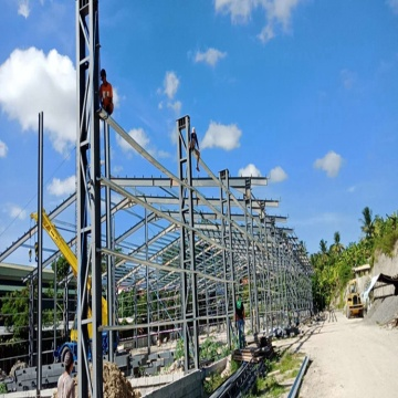 30x40 metal building Structural Steel frame construction