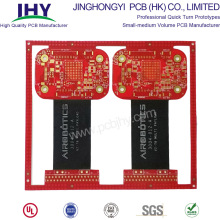 6 Layer Through-hole Rigid-flex PCB