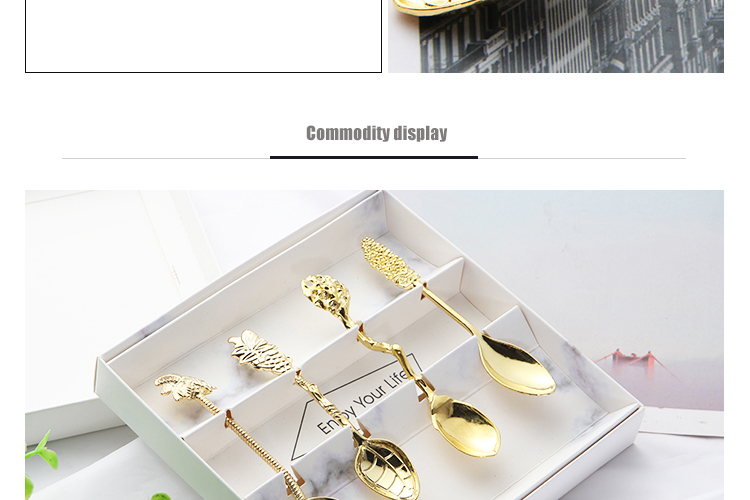 Fashional Design Metal Coffee Spoon