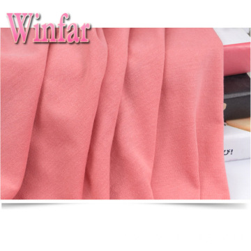 Polyester Spandex Stretch Jersey Solid Dye Recycled Fabric