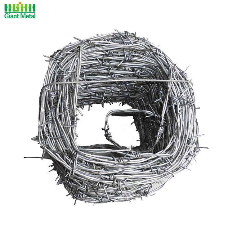Protecting Reverse Twist High Tension Military Barbed Wire