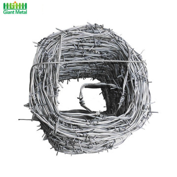 High Tension Reverse Twist Military Barbed Wire