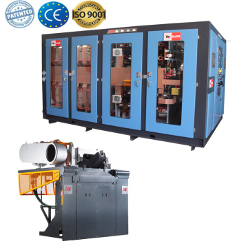 Scrap copper induction smelting forging  furnace