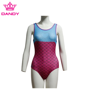 Girls Sleeveless Gymnastics Leotards