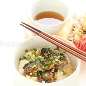 Canned Fish Saury In Oil