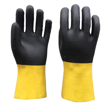 PVC Coated Gloves with Jersey liner