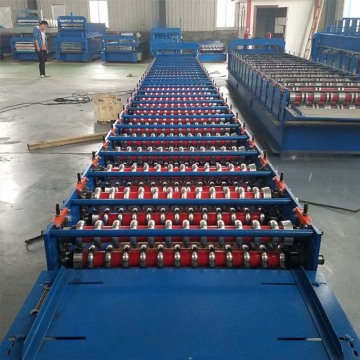 Metal Roofing Corrugated Panel Sheet Roll Forming Machine