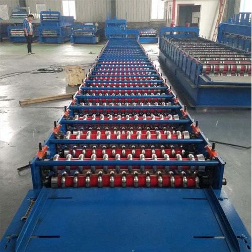 Corrugating Steel Roofing Sheet Making Machine