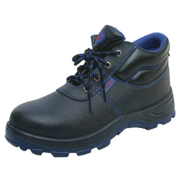 Split Cow Leather Safety Boots