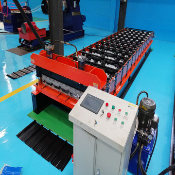 ibr metal  roof panel tile making machine
