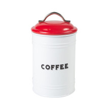 Metal coffee canister kitchen
