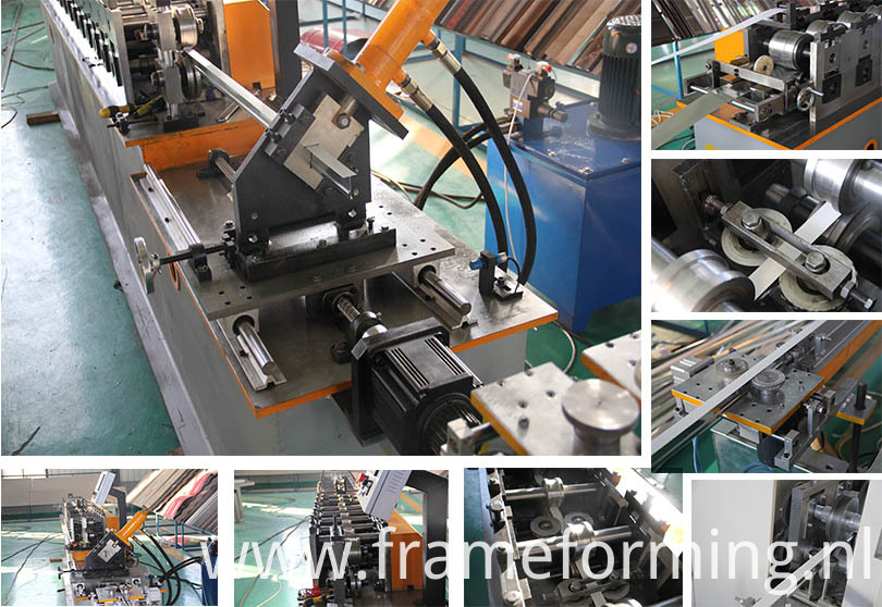 T type keel roll forming machine