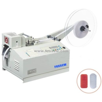 Automatic Velcro Tape Cutter Machine Round Shape