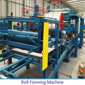 EPS Sandwich Panle Roll Forming Machine