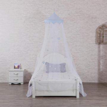Star Decor Mosquito Nets Girls Hanging Bed Canopy