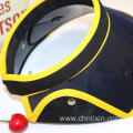 Outdoor anti fashion beach custom sun visor hat