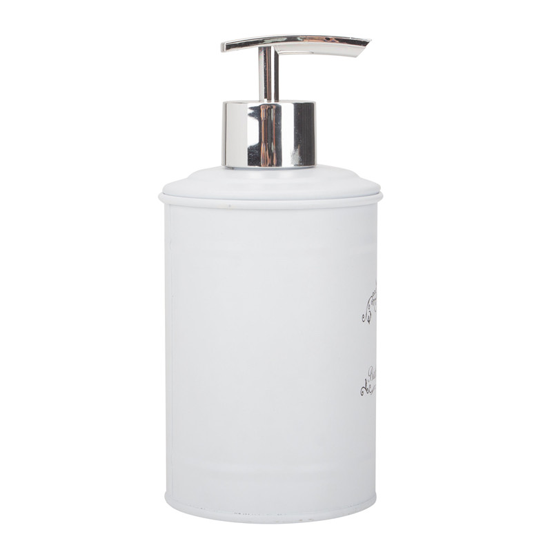 Tin Powder Coated Soap Dispenser
