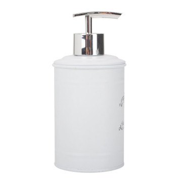 White Metal Soap Dispenser Wenko