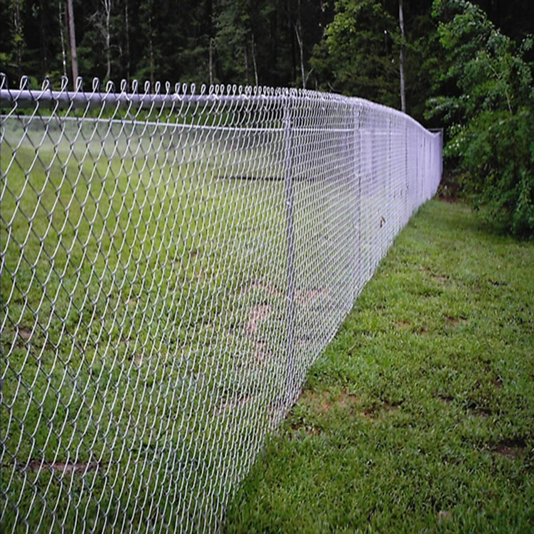Sale used Galvanized PVC coated Chian Link Fence