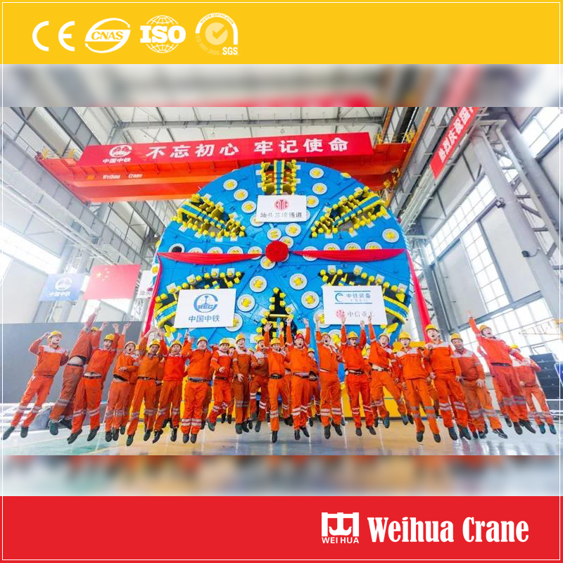 Tunneling Machine Overhead Crane