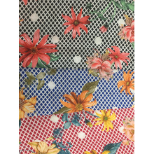 Lace Flower Rayon Challis 30S Printing Woven Fabric