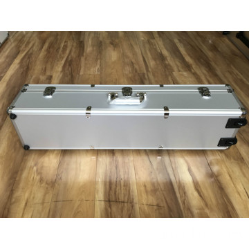 Aluminum Gun Case with Cut-out Foam Insert