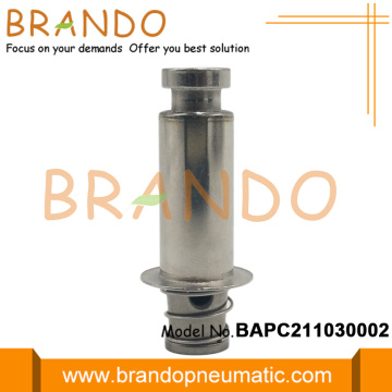 Stainless Steel Tube Flange Plunger Seat Armature Assembly