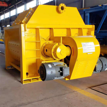 1.5m3 double shaft JS concrete mixer price