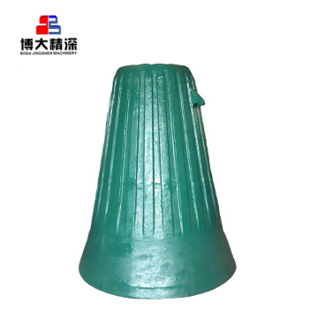 gyratory cone crusher bowl liner crusher spare part