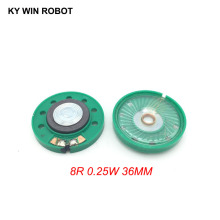2pcs/lot New Ultra-thin speaker Doorbell horn Toy-car horn 8 ohms 0.5 watt 0.5W 8R speaker Diameter 36MM 3.6CM thickness 7MM