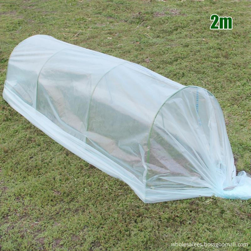Greenhouse Tunnel Foil Plastic Vegetable Agricultural Cultivation Cover Film Waterproof Anti-UV Gardening Planters & Pots
