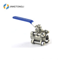 JKTL3B020 manufacture 3pc floating ss316 ball valve ball