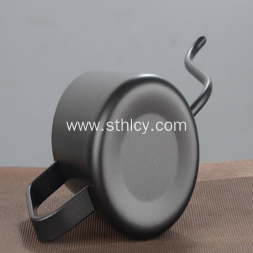 Stainless Steel Pot with Fine Mouth