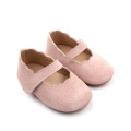 Leather Infant Dress Shoes Pink Baby Toddler Shoes