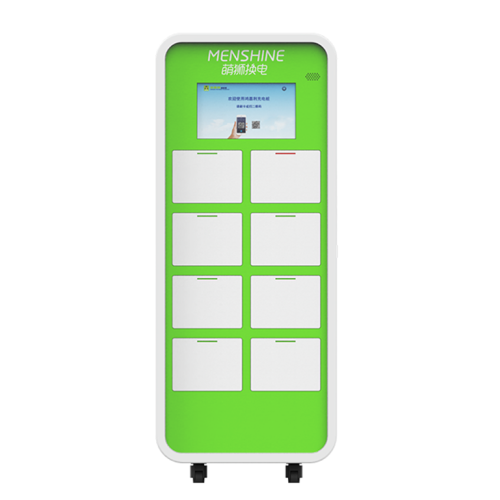 Full intelligent voice LED display charging cabinet