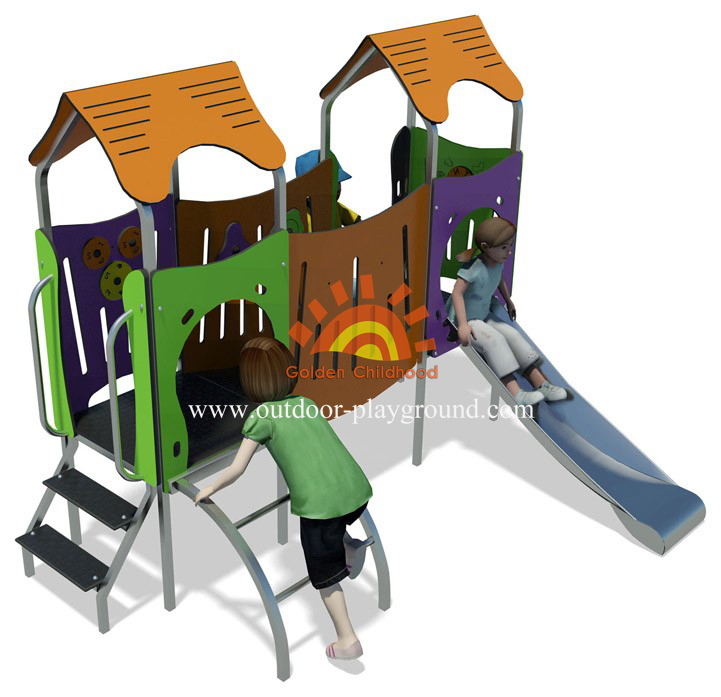modern outdoor play structures