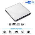 External Blu-Ray Burner Drive USB3.0 DVD Players 3D Slim Optical Drive Blu-Ray Writer Reader CD/DVD Burner for Windows/IOS