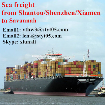 Sea freight rates from Shantou to Savannah