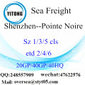 Shenzhen Port Sea Freight Shipping To Pointe Noire