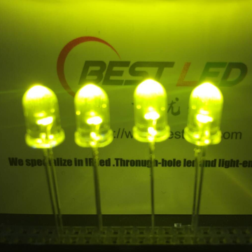 Ultra Bright 5mm 565nm 570nm LED LED mavo-maitso