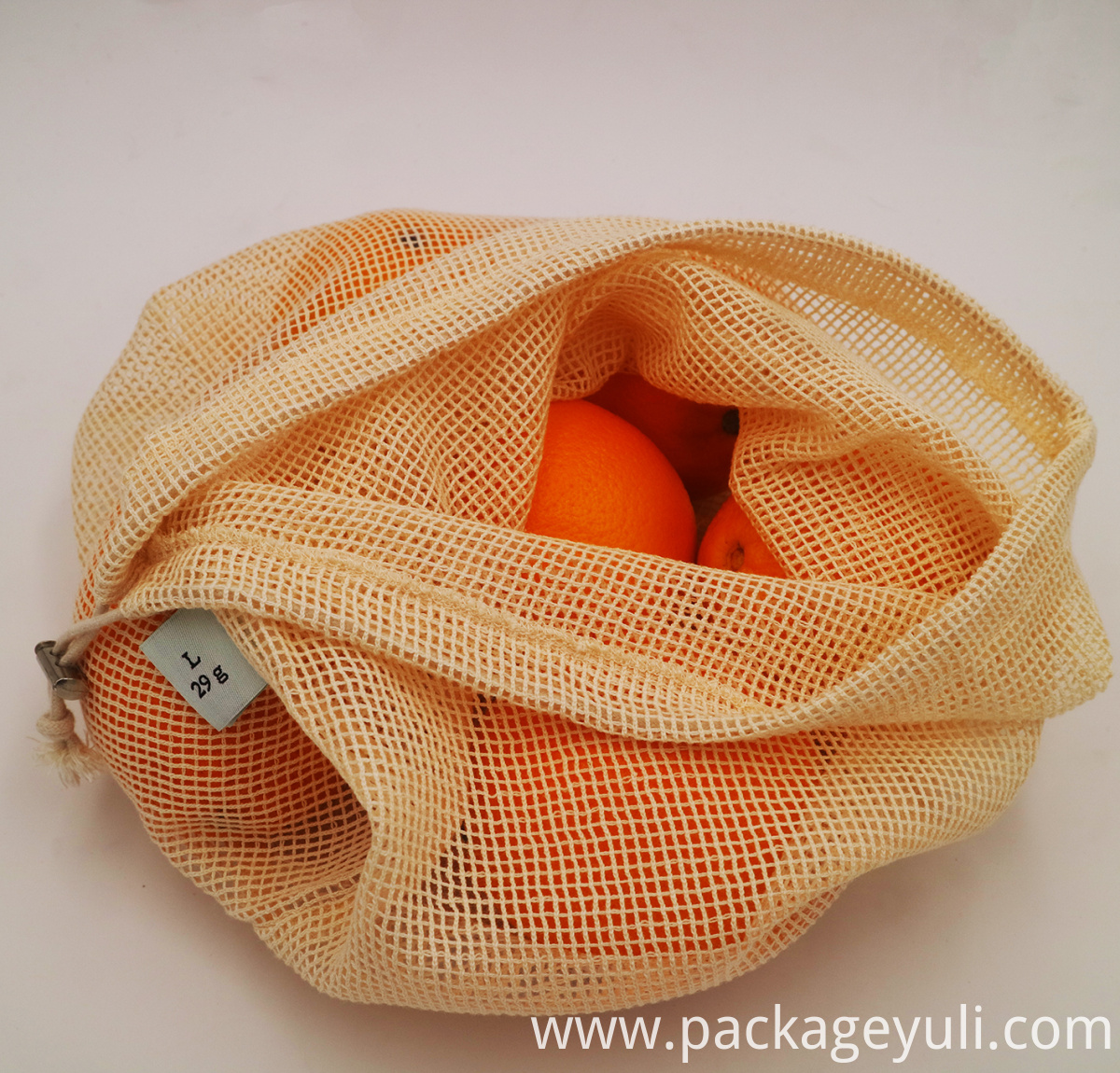 Cotton Mesh Bag 002