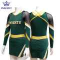 Long sleeve cheer and dance uniforms