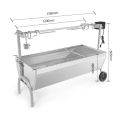 Cold Rolled Steel BBQ Grill