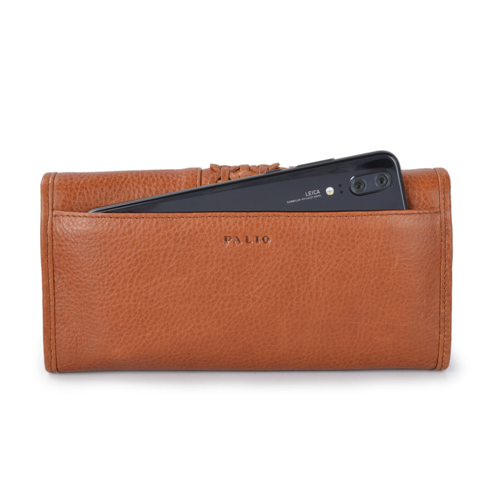 Multi Credit Card Holder Money Clip Leather Wallets