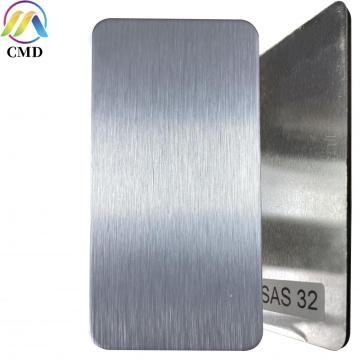 Aluminium Composite Panel Brush Silver/Raw Aluminium