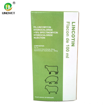 Lincomycin Hydrochloride Injection For Animal Use