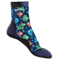 Seaskin Kids Beach Socks with Patterned Lycra
